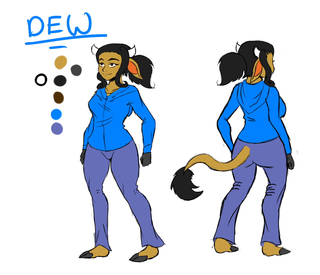Dew Reference Sheet