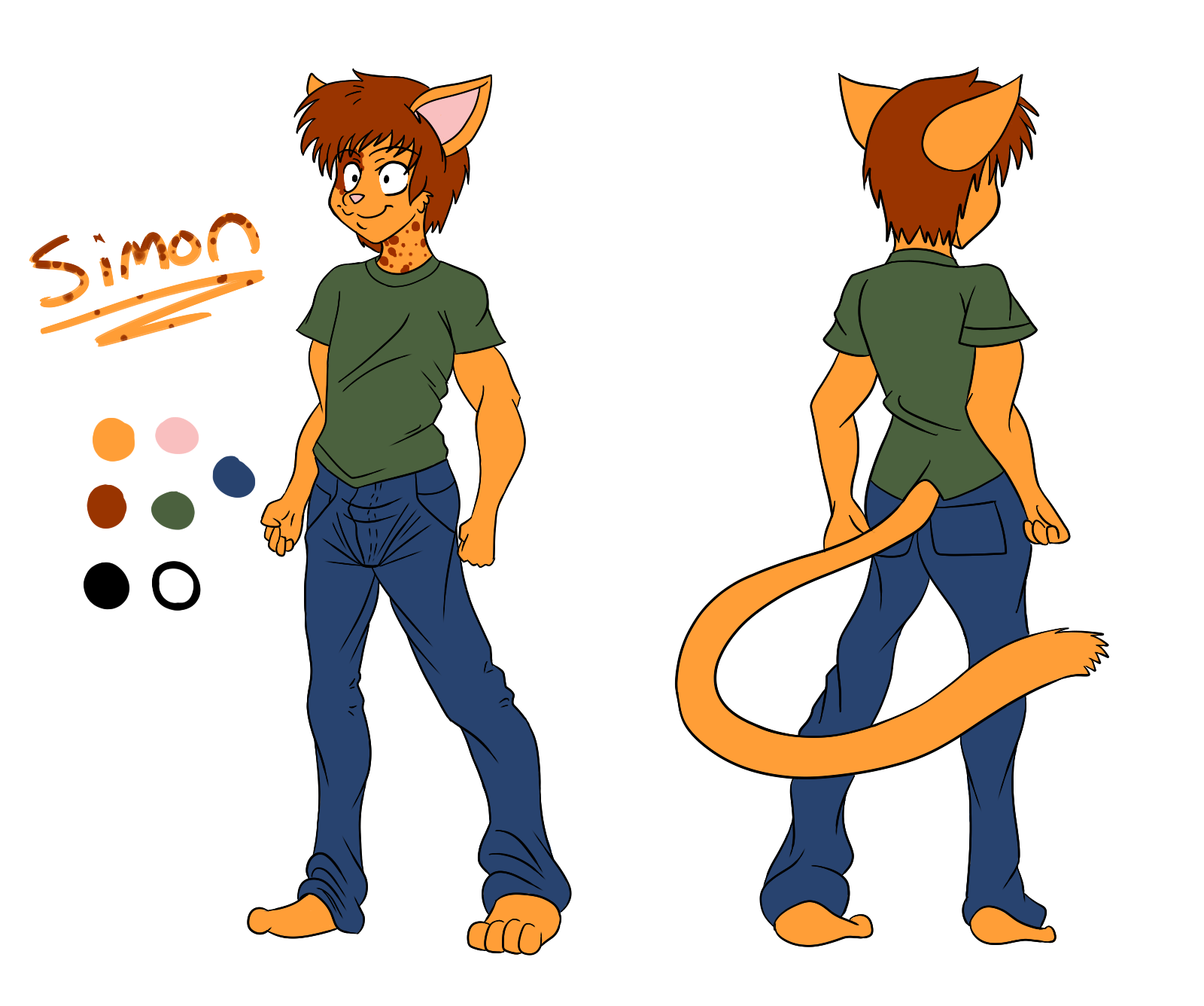Simon Reference Sheet